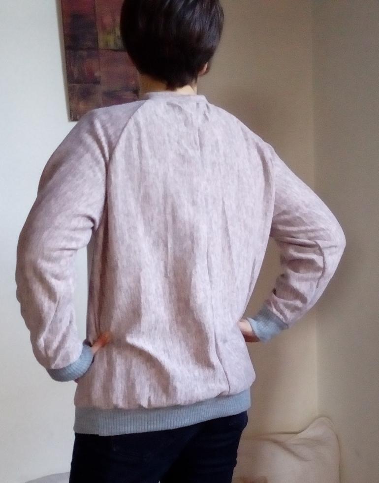 sweat-shirt lana de dos