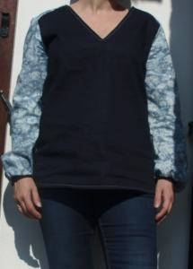 Devant blouse