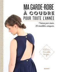 """Résultat de recherche d'images pour """"ma garde robe a coudre pour toute l'année charlotte auzou"""""""